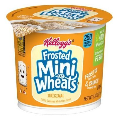 Cereal, Kellogg's® Frosted Mini-Wheats™ Original Cereal (Single 2.5 oz Cup)