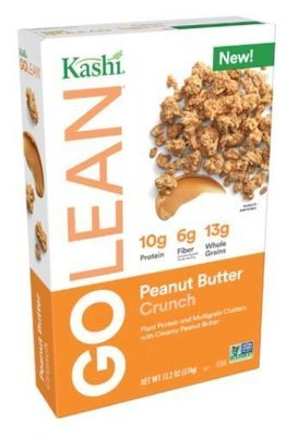 Cereal, Kashi® Go Lean™ Peanut Butter Crunch Cereal (13.2 oz Box)