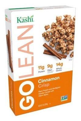 Cereal, Kashi® Go Lean™ Cinnamon Crisp Cereal (14 oz Box)