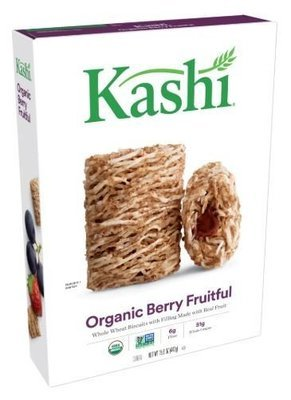 Cereal, Kashi® Organic Biscuits™ Berry Fruitful Cereal (15.6 oz Box)