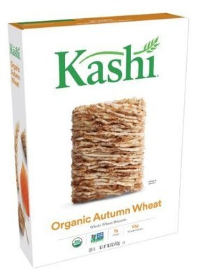 Cereal, Kashi® Organic Biscuits™ Autumn Wheat Cereal (16.3 oz Box)
