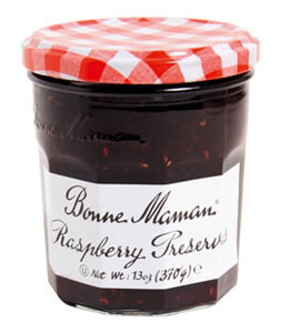 Fruit Spread, Bonne Maman® Raspberry Preserves (13 oz Jar)
