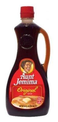 Pancake Syrup, Aunt Jemima® Original Pancake Syrup (24 oz Bottle)