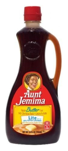 Pancake Syrup, Aunt Jemima® Butter Lite Pancake Syrup (24 oz Bottle)