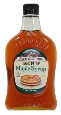 Pancake Syrup, Maple Grove Farms® 100% Pure Maple Syrup (12.5 oz Bottle)