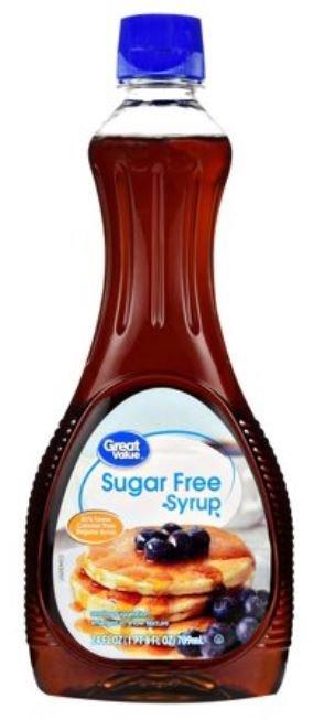 Pancake Syrup, Great Value® Sugar Free Syrup (24 oz Bottle)