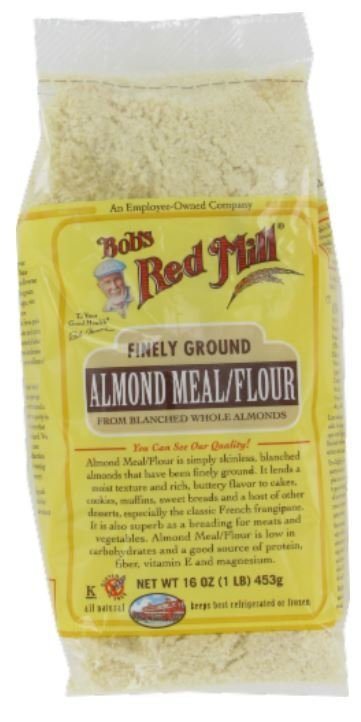 Baking Flour, Bob's Red Mill® Almond Meal/Flour (16 oz Bag)