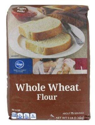 Baking Flour, Kroger® Whole Wheat Flour (80 oz Bag)