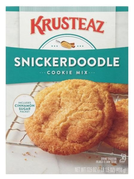 Cookie Mix, Krusteaz® Snickerdoodle Cookie Mix (17.5 oz Box)