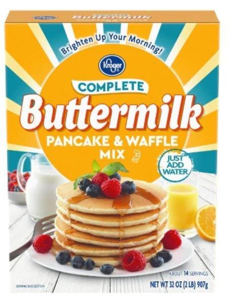 Pancake Mix, Kroger® Complete Buttermilk Pancake Mix (32 oz Box)
