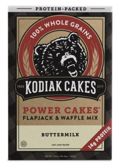 Pancake Mix, Kodiak Cakes® Power Cakes Buttermilk  Flapjack & Waffle Mix (20 oz Box)