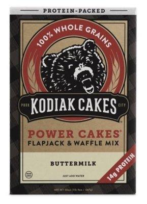 Pancake Mix, Kodiak Cakes® Power Cakes Buttermilk  Flapjack & Waffle Mix (20 oz Box)