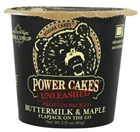 Pancake Mix, Kodiak Cakes® Power Cakes Buttermilk & Maple Flapjack On The Go (2.15 oz Cup)