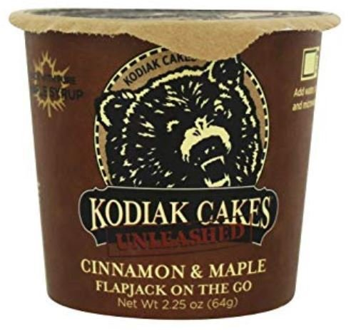 Pancake Mix, Kodiak Cakes® Power Cakes Cinnamon & Maple Flapjack On The Go (2.25 oz Cup)
