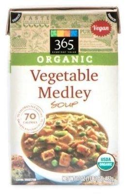 Boxed Organic Soup, 365® Organic Vegetable Medley Soup (17 oz Box)