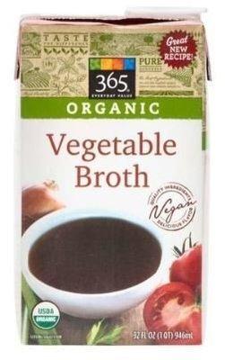 Boxed Organic Broth, 365® Organic Vegetable Broth (32 oz Box)
