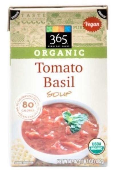 Boxed Organic Soup, 365® Organic Tomato Basil Soup (17 oz Box)