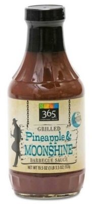 BBQ Sauce, 365® Organic Grilled Pineapple & Moonshine BBQ Sauce (19.5 oz Bottle)