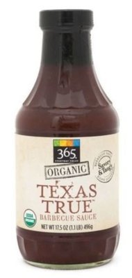 BBQ Sauce, 365® Organic Texas True BBQ Sauce (19.5 oz Bottle)