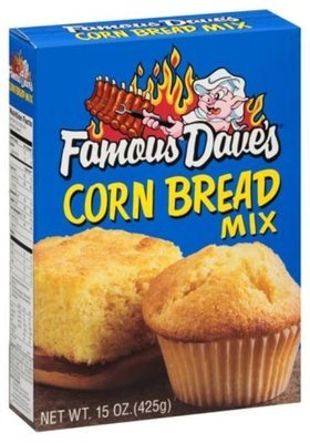 Corn Bread Mix, Famous Dave's® Corn Bread Mix (15 oz Box)