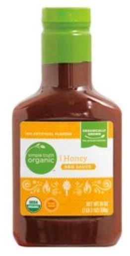 BBQ Sauce, Simple Truth™ Honey BBQ Sauce (19 oz Bottle)