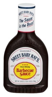 BBQ Sauce, Sweet Baby Ray's® Original BBQ Sauce (28 oz Bottle)