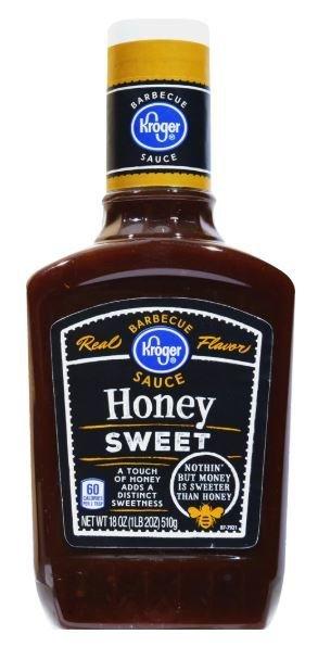 BBQ Sauce, Kroger® Honey Sweet BBQ Sauce (18 oz Bottle)