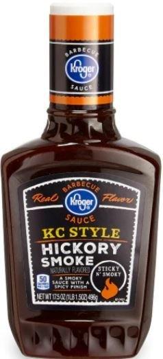 BBQ Sauce, Kroger® KC Style Hickory Smoke BBQ Sauce (17.5 oz Bottle)