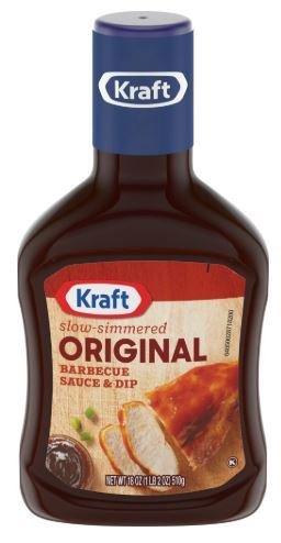 BBQ Sauce, Kraft® Original BBQ Sauce (18 oz Bottle)