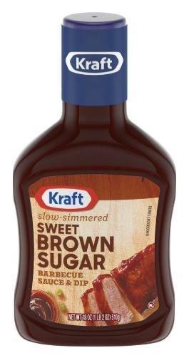 BBQ Sauce, Kraft® Sweet Brown Sugar BBQ Sauce (18 oz Bottle)
