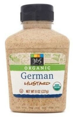 Mustard, 365® Organic German Mustard (8 oz Bottle)