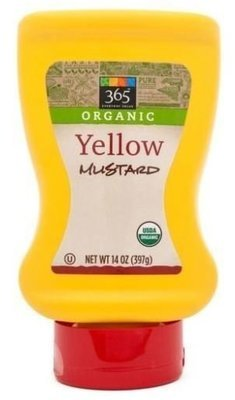 Mustard, 365® Organic Yellow Mustard (14 oz Bottle)