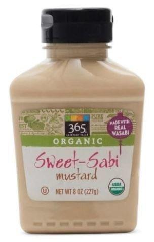 Mustard, 365® Organic Sweet-Sabi Mustard (8 oz Bottle)