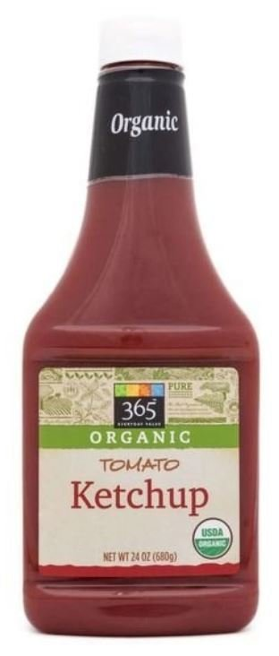 Ketchup, 365® Organic Tomato Ketchup (24 oz Bottle)