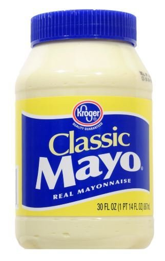 Mayonnaise, Kroger® Classic Mayo Mayonnaise (30 oz Jar)