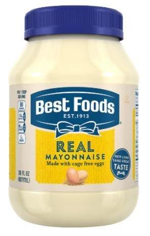 Mayonnaise, Best Foods® Real Mayonnaise (30 oz Jar)
