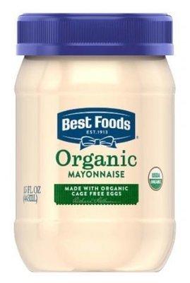 Organic Mayonnaise, Best Foods® Organic Mayonnaise (15 oz Jar)