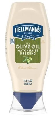 Olive Mayonnaise, Best Foods® Olive Oil Mayonnaise (Squeezable 11.5 oz Bottle)