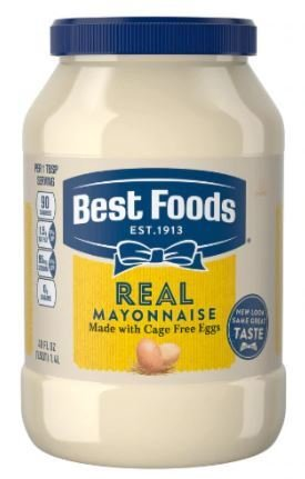 Mayonnaise, Best Foods® Real Mayonnaise (48 oz Jar)