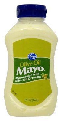 Olive Mayonnaise, Kroger® Olive Oil Mayo Mayonnaise (Squeezable 12 oz Bottle)