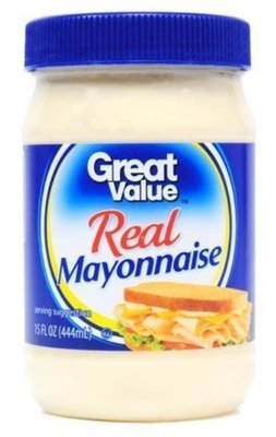 Mayonnaise, Great Value® Mayo Mayonnaise (15 oz Jar)