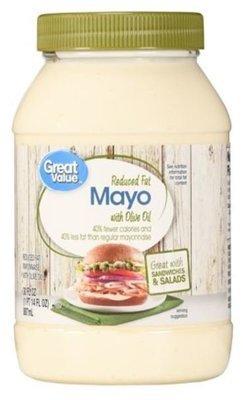 Olive Mayonnaise, Great Value® Olive Oil Mayo Mayonnaise (30 oz Jar)