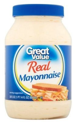 Mayonnaise, Great Value® Mayo Mayonnaise (30 oz Jar)