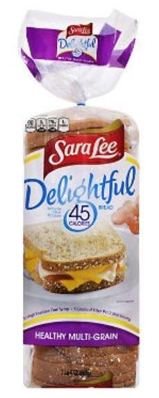 Loaf Bread, Sara Lee® Delightful 45 Calorie Multi-Grain Bread (20 oz Bag)