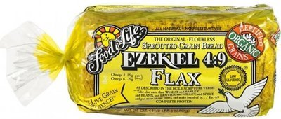 Loaf Bread, Food for Life® Ezekiel 4:9® Sprouted Grain Flax Bread (24 oz Bag)