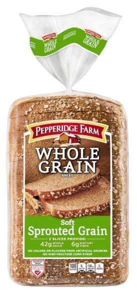 Loaf Bread, Pepperidge Farm® Soft Sprouted Whole Grain Bread (22 oz Bag)