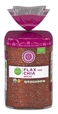 Loaf Bread, Simple Truth Organic™ Flax & Chia Bread (26 oz Bag)