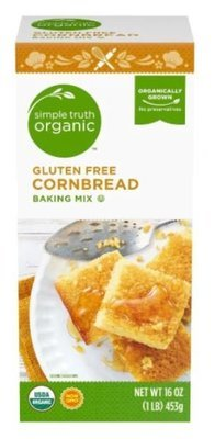 Organic Corn Bread Mix, Simple Truth Organic™ Gluten Free Corn Bread Mix (16 oz Box)