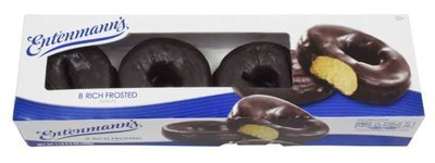 Donuts, Entenmann's® Chocolate Frosted Donuts (8 Count, 6 oz Box)