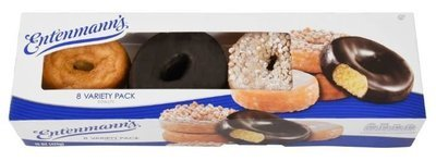 Donuts, Entenmann's® Variety Pack Donuts (8 Count, 15 oz Box)